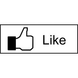 Facebook Like Stamp