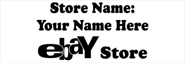 Visit My Ebay Store