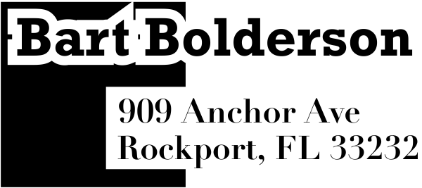 Bolderson Address Stamp