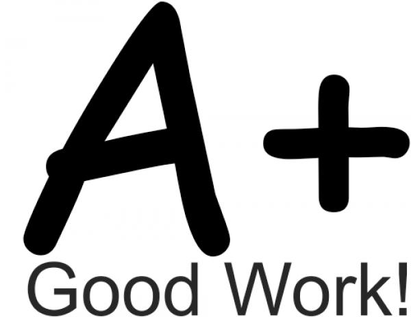 A+ Good Work! Teacher Stamper