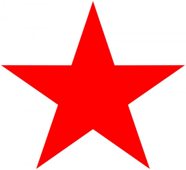Star Five Point Teacher Grading Rubber Stamp