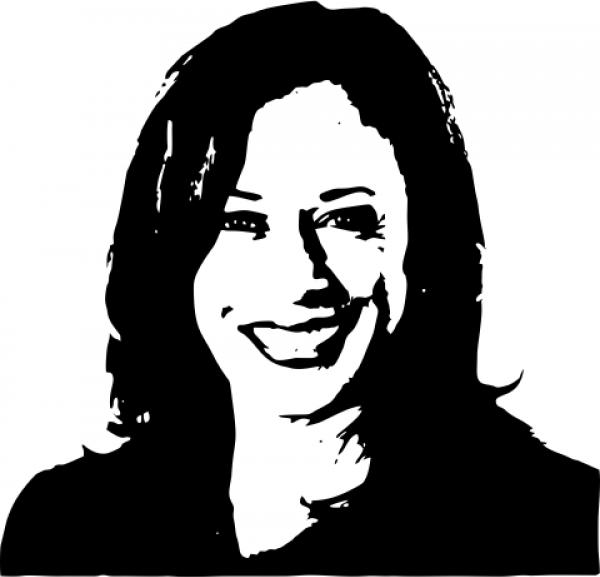 Kamala Harris Political Figure Stamp