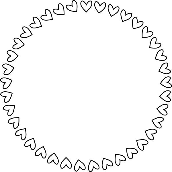 Heart Wreath Stamp