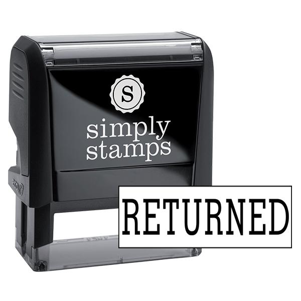 Returned Rubber Stock Stamp