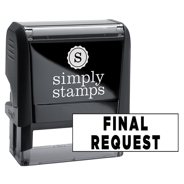 Final Request Stock Stamp