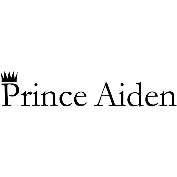 "Custom ""Prince"" Baby Name Craft Stamp"
