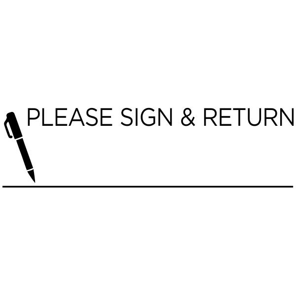Please Sign & Return Teacher Grading Stamp