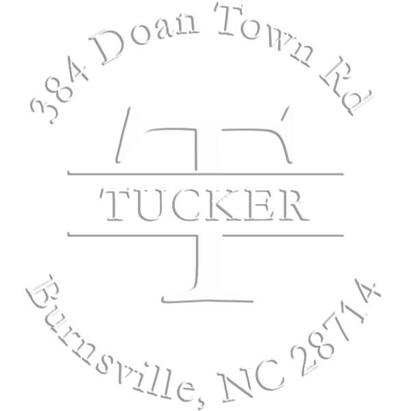 Tucker Round Return Address Embosser
