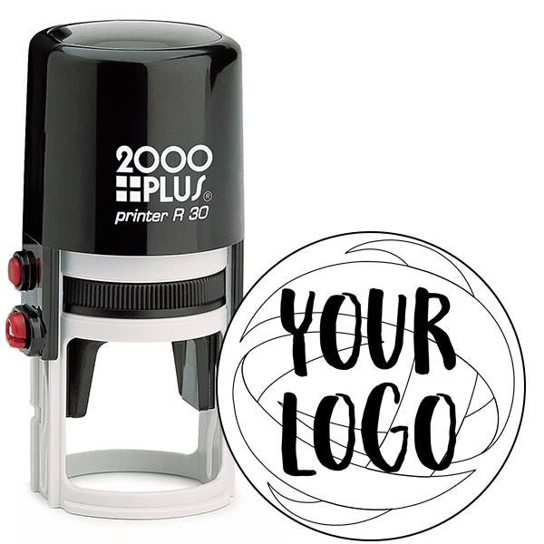 Small Stamp for Round Logos