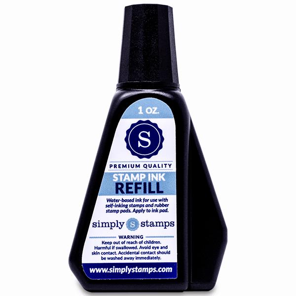 Trodat stamp refill ink bottle 1 ounce