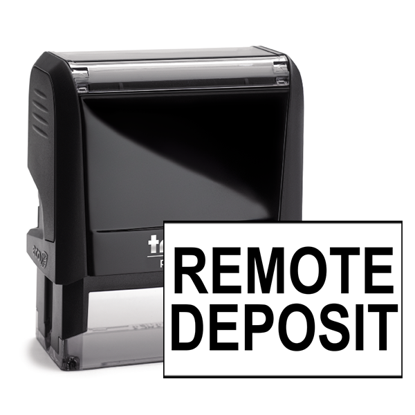 Remote Deposit Stamp