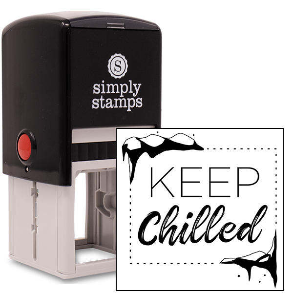Keep Food Chilled Packaging Stamp