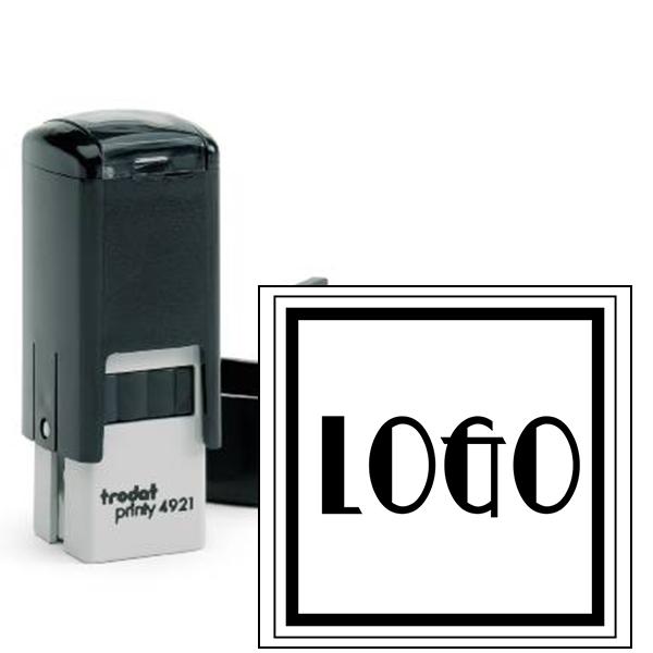 Mini Square Logo Stamp