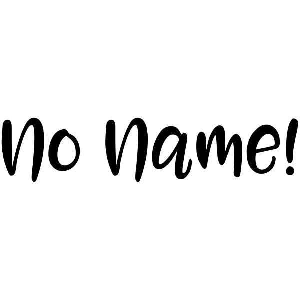 No Name Casual Teacher Stamp