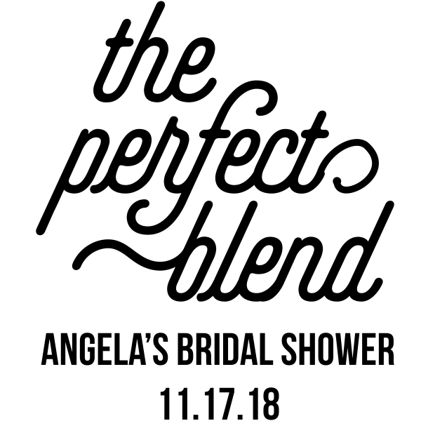 The Perfect Blend DIY Wedding Stamp