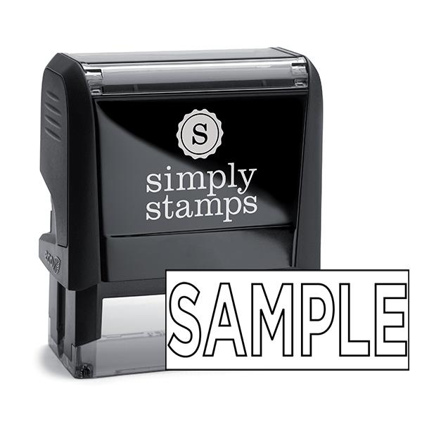 Sample Stock Stamp