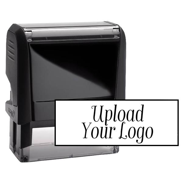 Medium Custom Stamp for Rectangle Logos