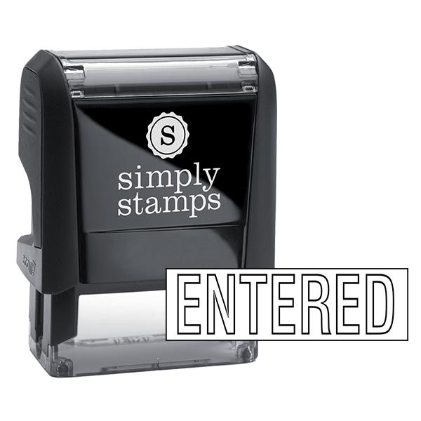 Entered Stock Stamp