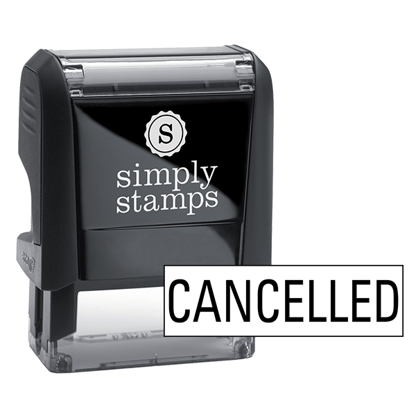 Cancelled Stock Stamp