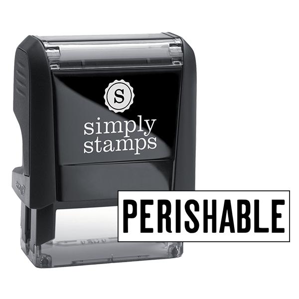 Perishable Stock Stamp