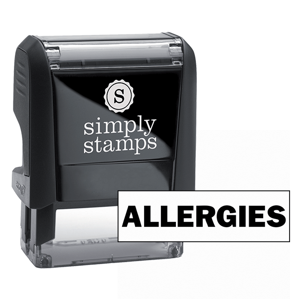 Allergies Stock Stamp