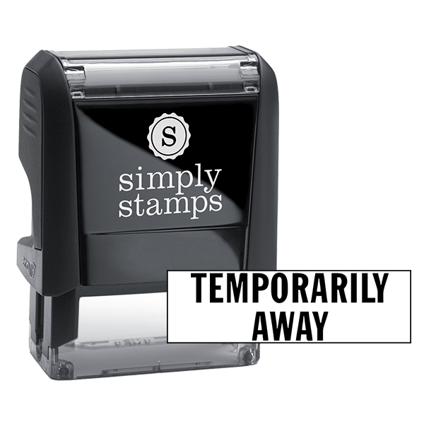 Temporarily Unavailable Stock Stamp