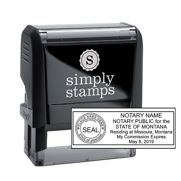 Montana Notary Public Stamp