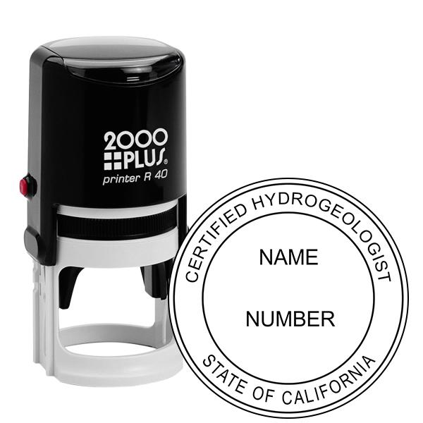 State of California Hydrogeologist