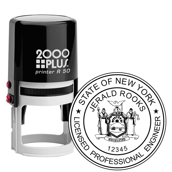 State of New York Engineer Seal