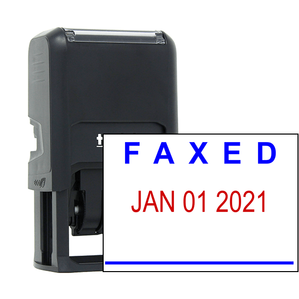 Faxed Date Stamp