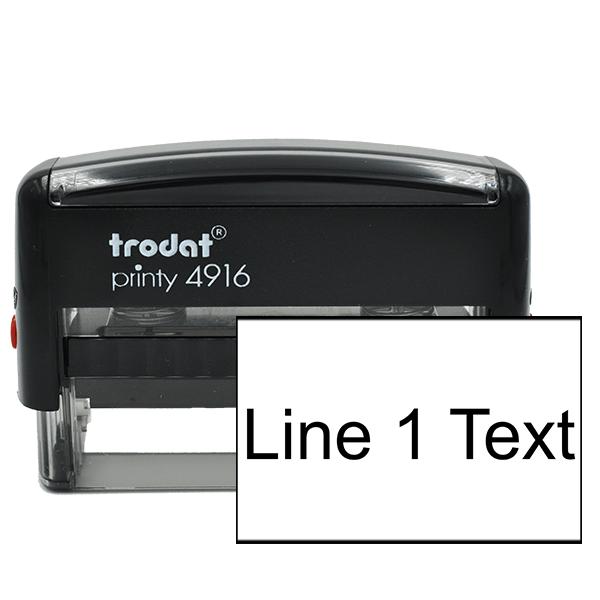 1 Line Stamp