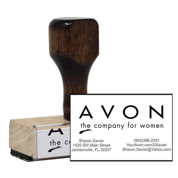 Avon Catalog Stamp Style 3