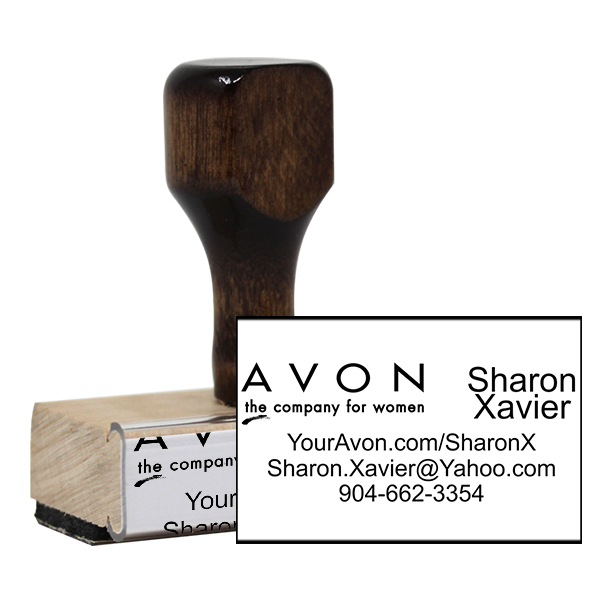 Avon Logo Catalog Stamp