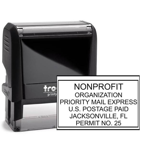 Non-Profit Organization Postage Permit Stamp