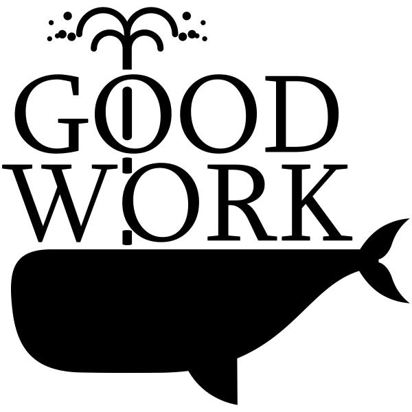 Feedback - GOOD WORK Whale Rubber Teacher Stamp