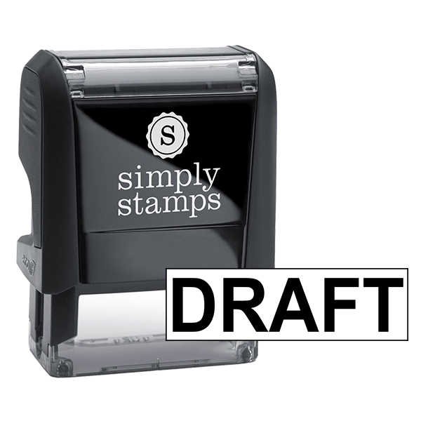 DRAFT Solid Lettering Stock Stamp