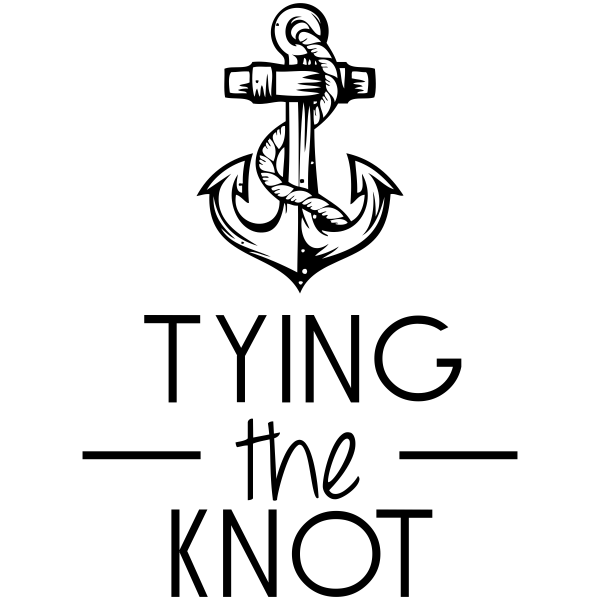Nautical Anchor Save The Date Rubber Stamp