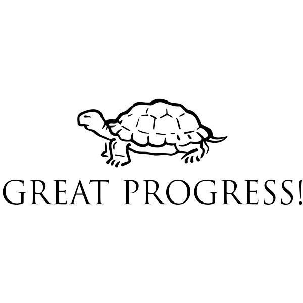 Great Progress Teacher Stamp