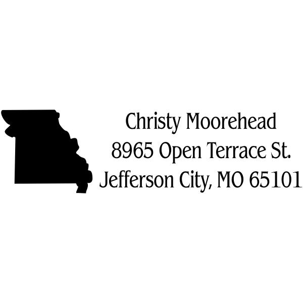 Missouri Return Address Stamp