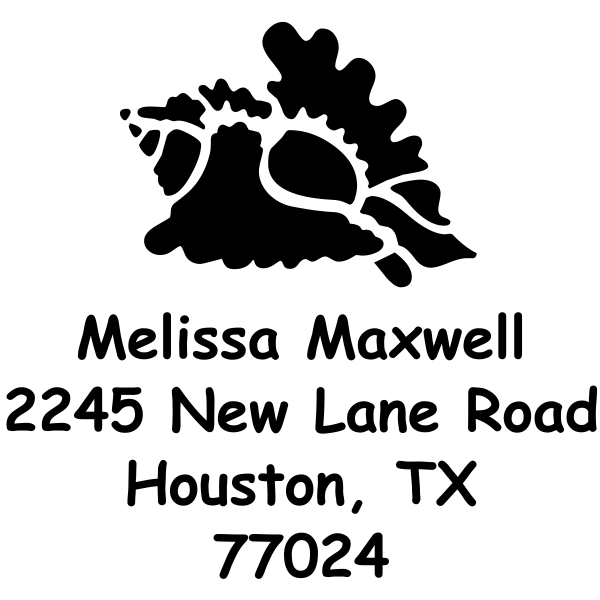 Conch Shell Stamp