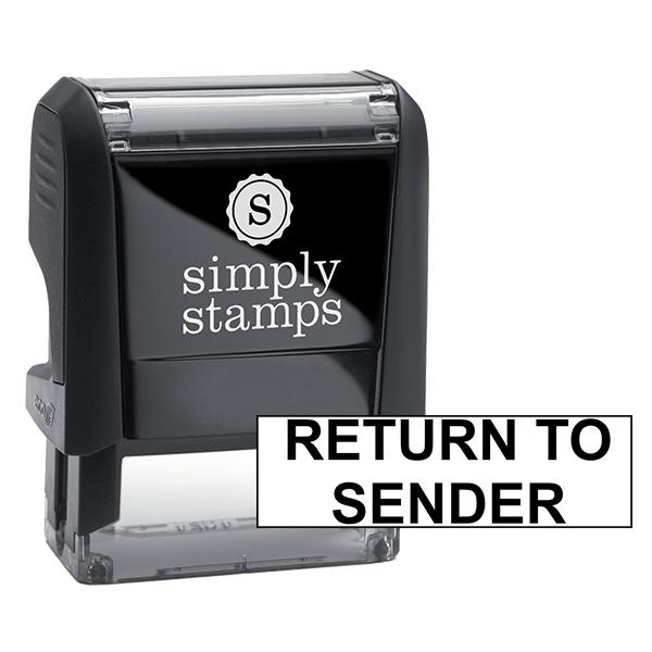 Return To Sender Self-Inking Stock Stamp