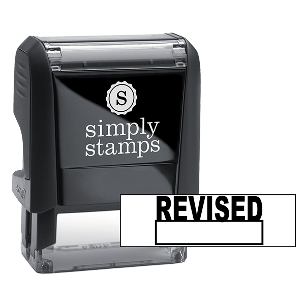 Revised Self Inking Stock Stamp