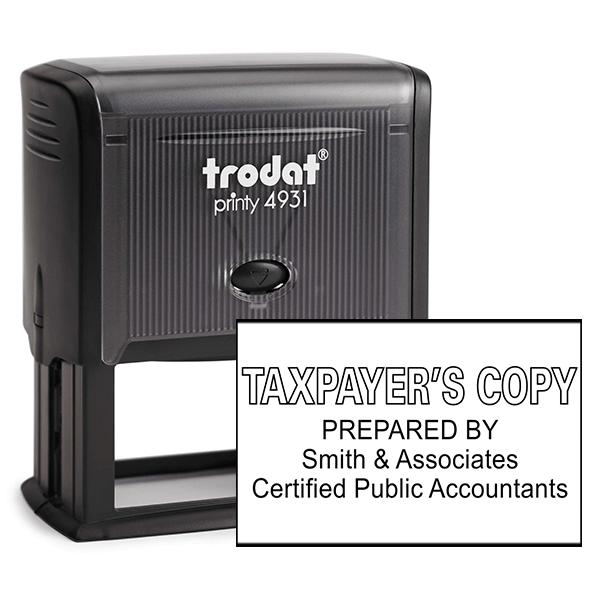 Taxpayer Copy Stamp