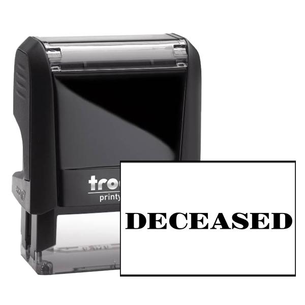 Deceased Stamp