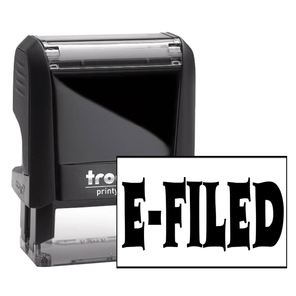 E-Filed Office Stock Stamp