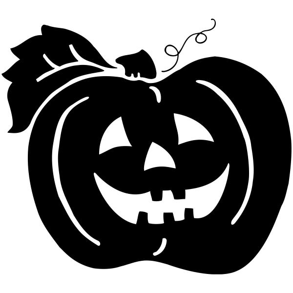 October Jack O' Lantern Craft Stamp