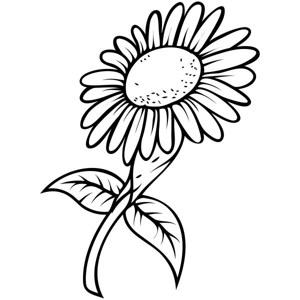 Sunflower Craft Stamp