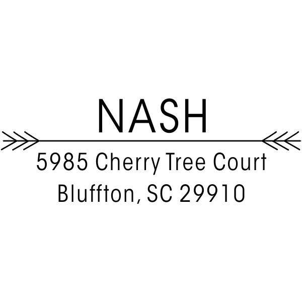 Nash Return Address Stamp
