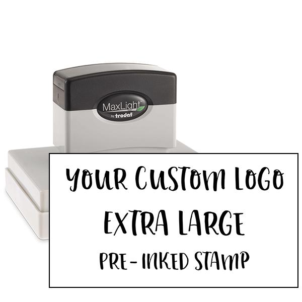 Your Logo Custom Stamp 4 inch