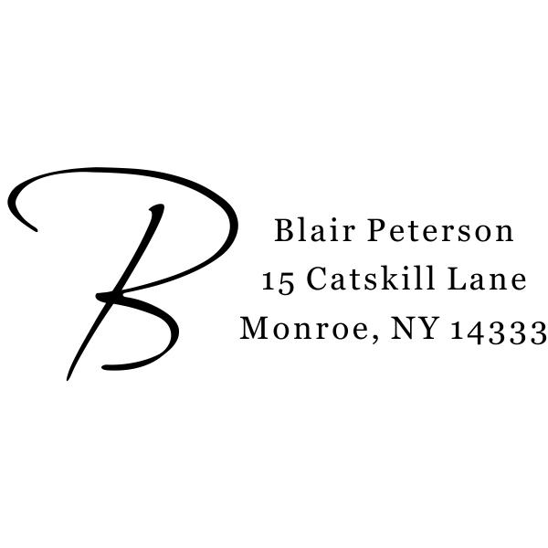 Script Initial Return Address Stamp